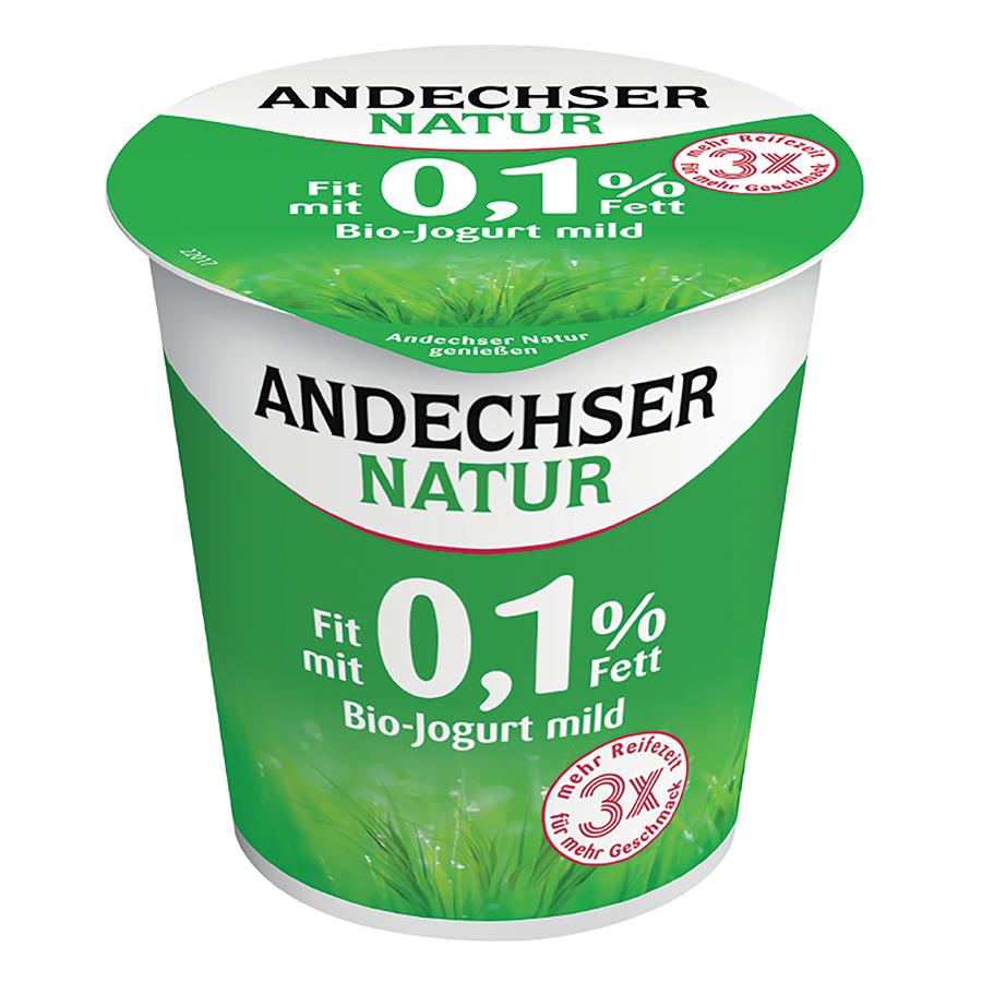 ANDECHSER BIO JOGURT NATURALNY 0,1%