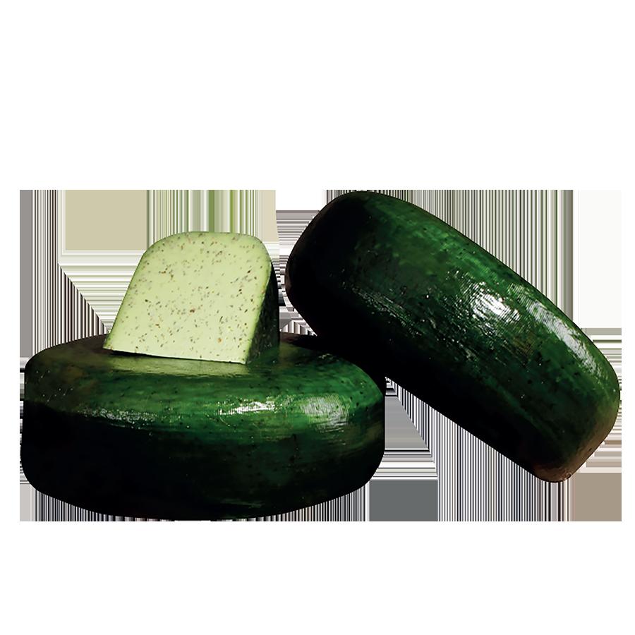 SER GOUDA GREEN PESTO (krąg)
